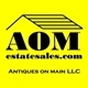 Antiques On Main D/B/A AOMestatesales.com Logo
