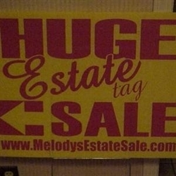 Melody's Whole House Estate Sale