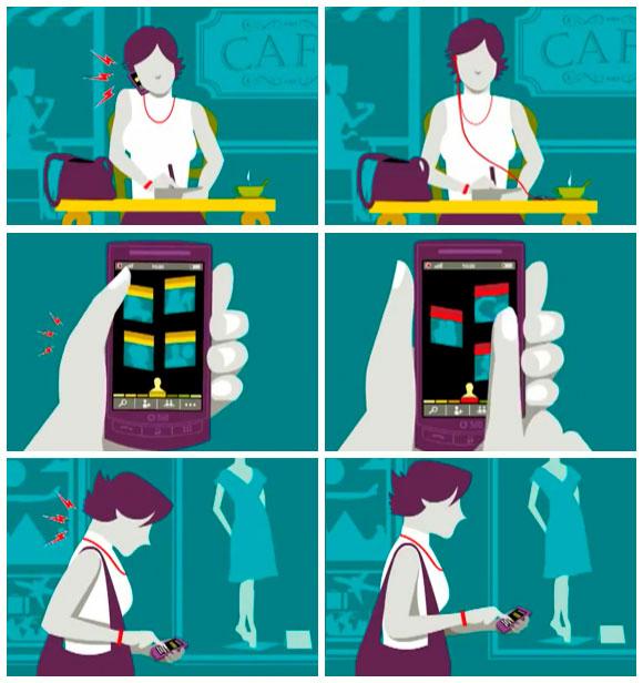 Posturas para usar el Smartphone
