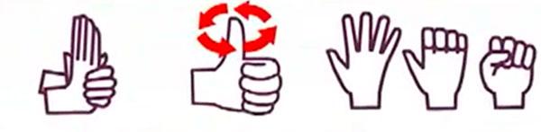 Ejercicios para estirar los dedos