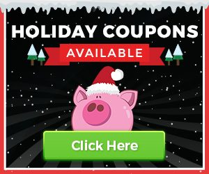 Holiday Coupons Available