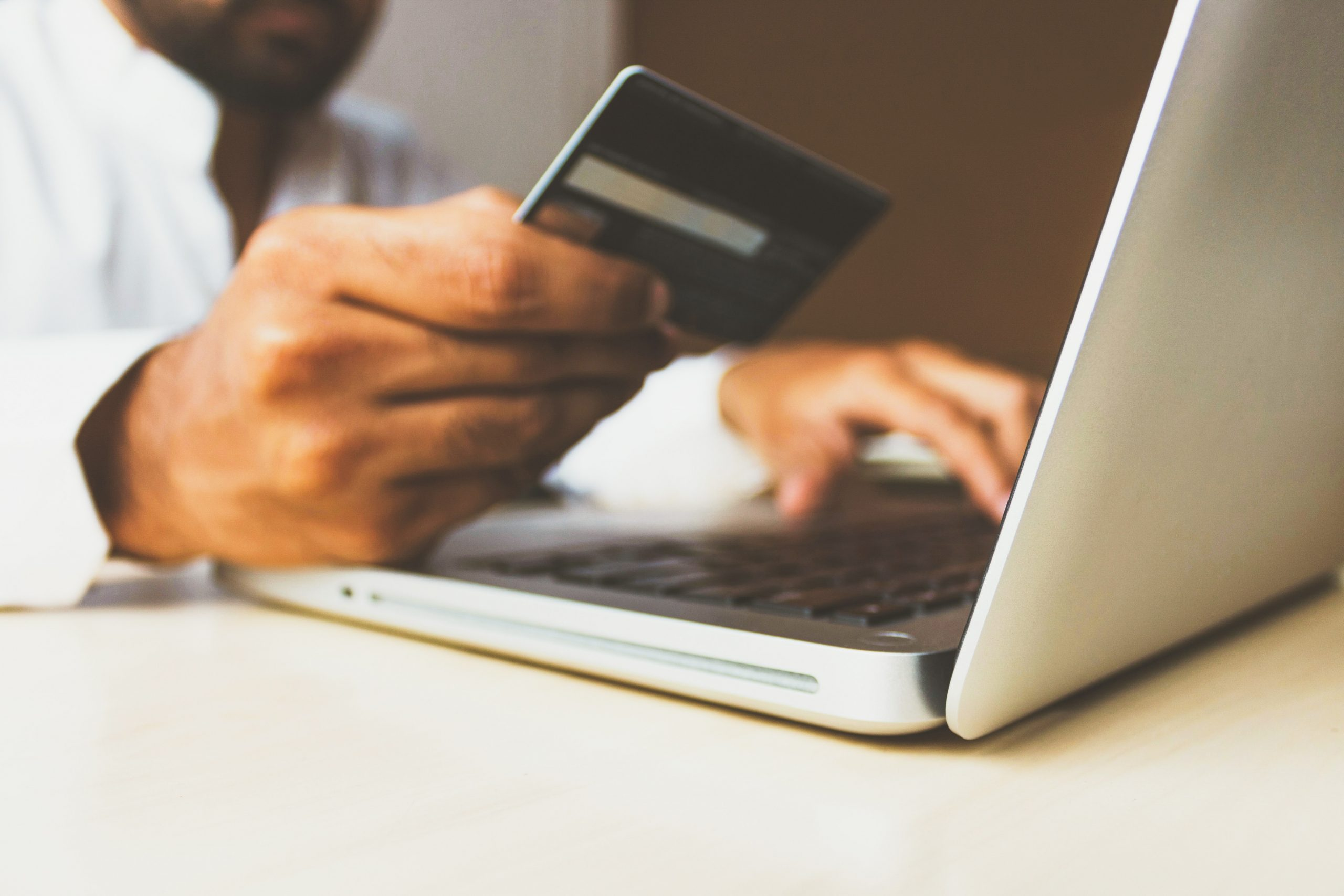 credit card shopping online