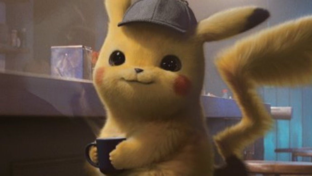 of all the different pokemon, only detective pikachu has a real love and affinity for coffee