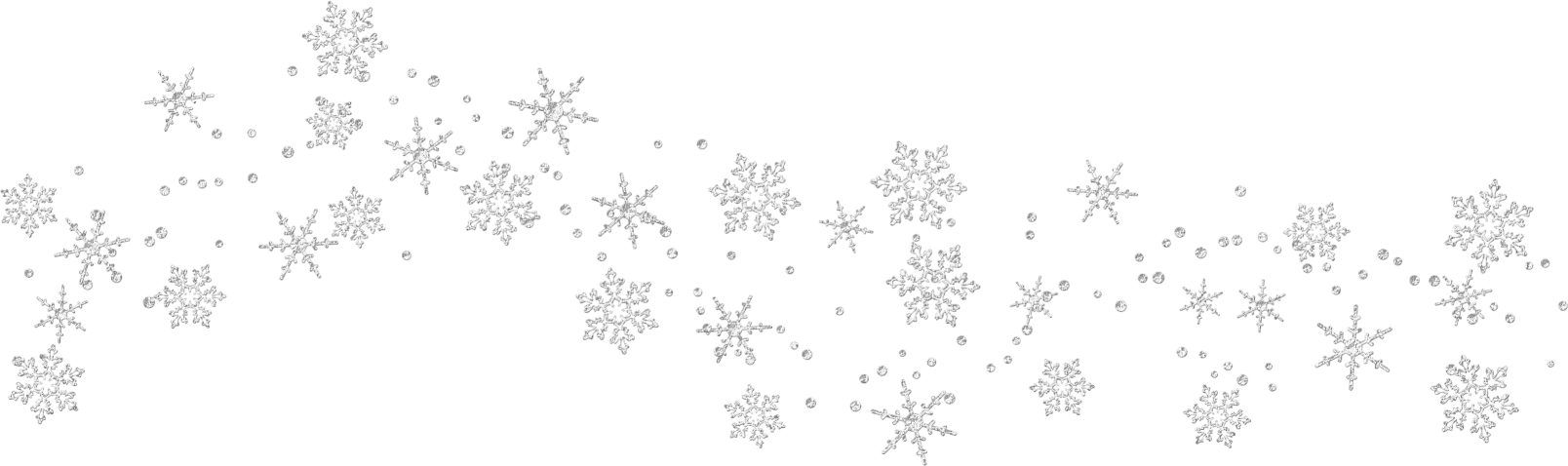 Snow Falling Clipart Black And White Snowflakes fal