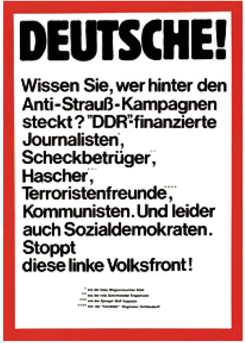 Cdu Wahlplakate 1991