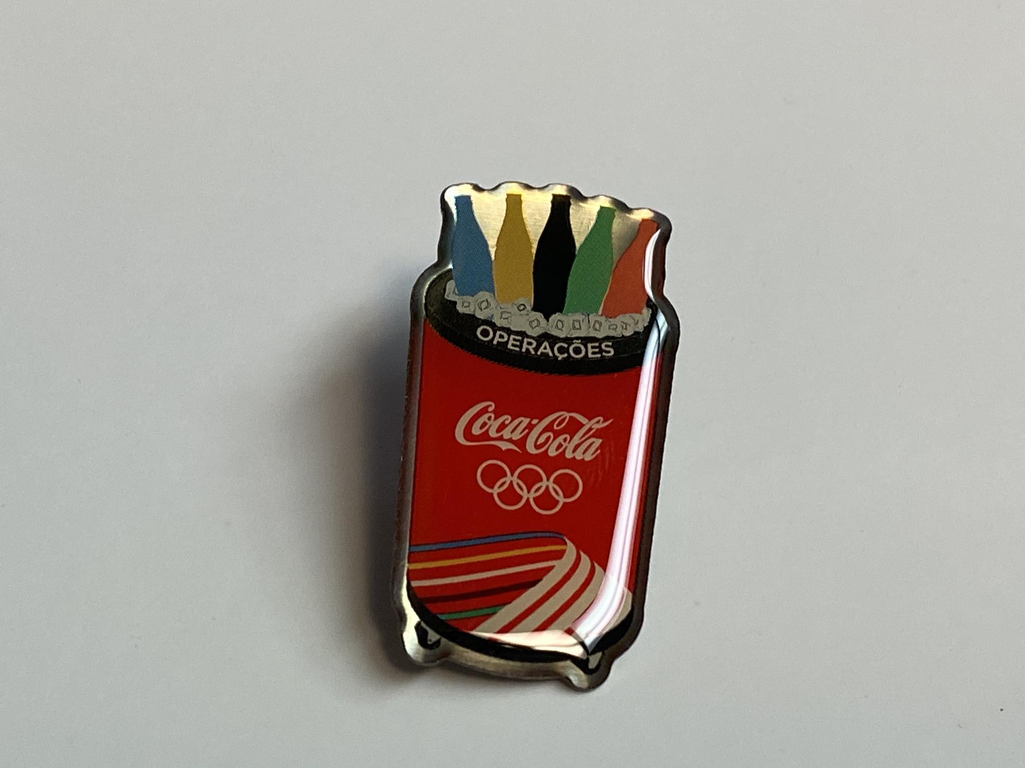 Coca-Cola (Coke) Rolling Outside Cooler Rio Pin