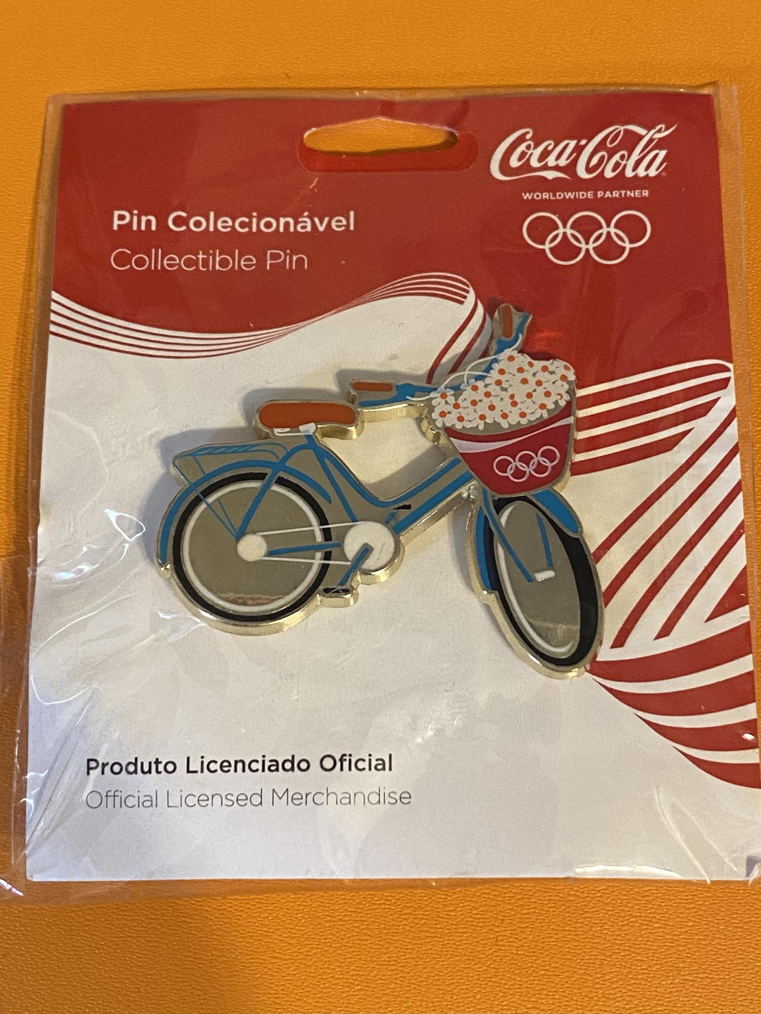 Coca-Cola (Coke) Rio 2016 Bicycle Pin