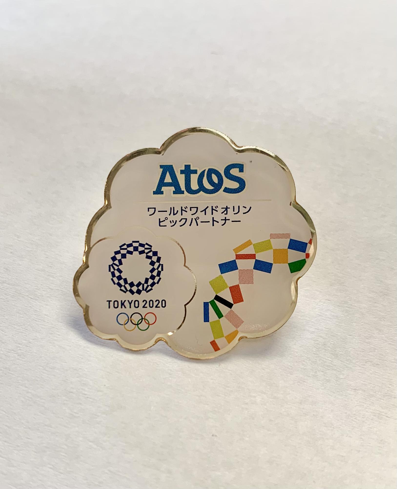 Atos w/ Tokyo 2020 Olympic Logo