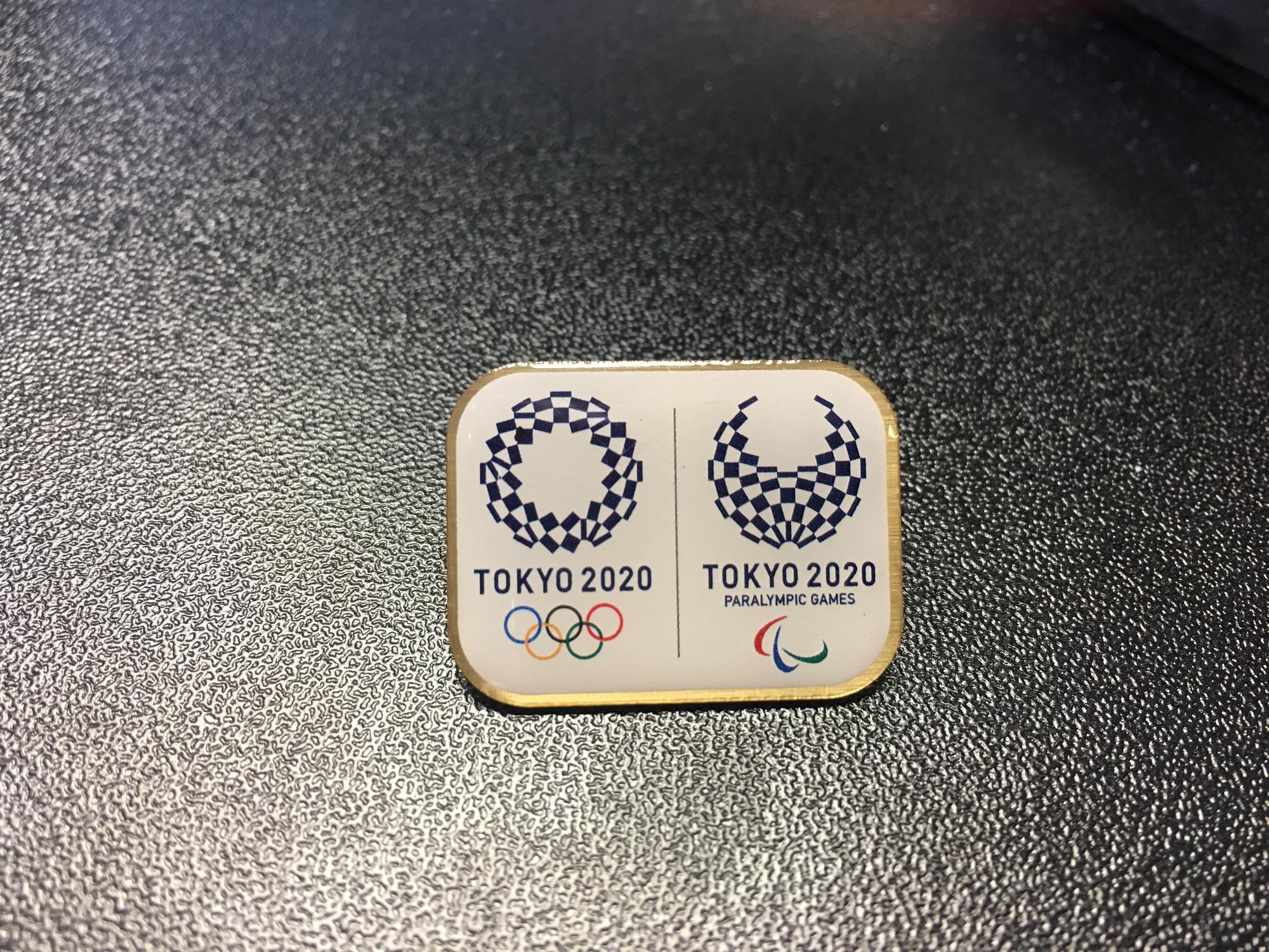 Tokyo 2020 Olympic and Paralympic Games Bid Pin (Post)