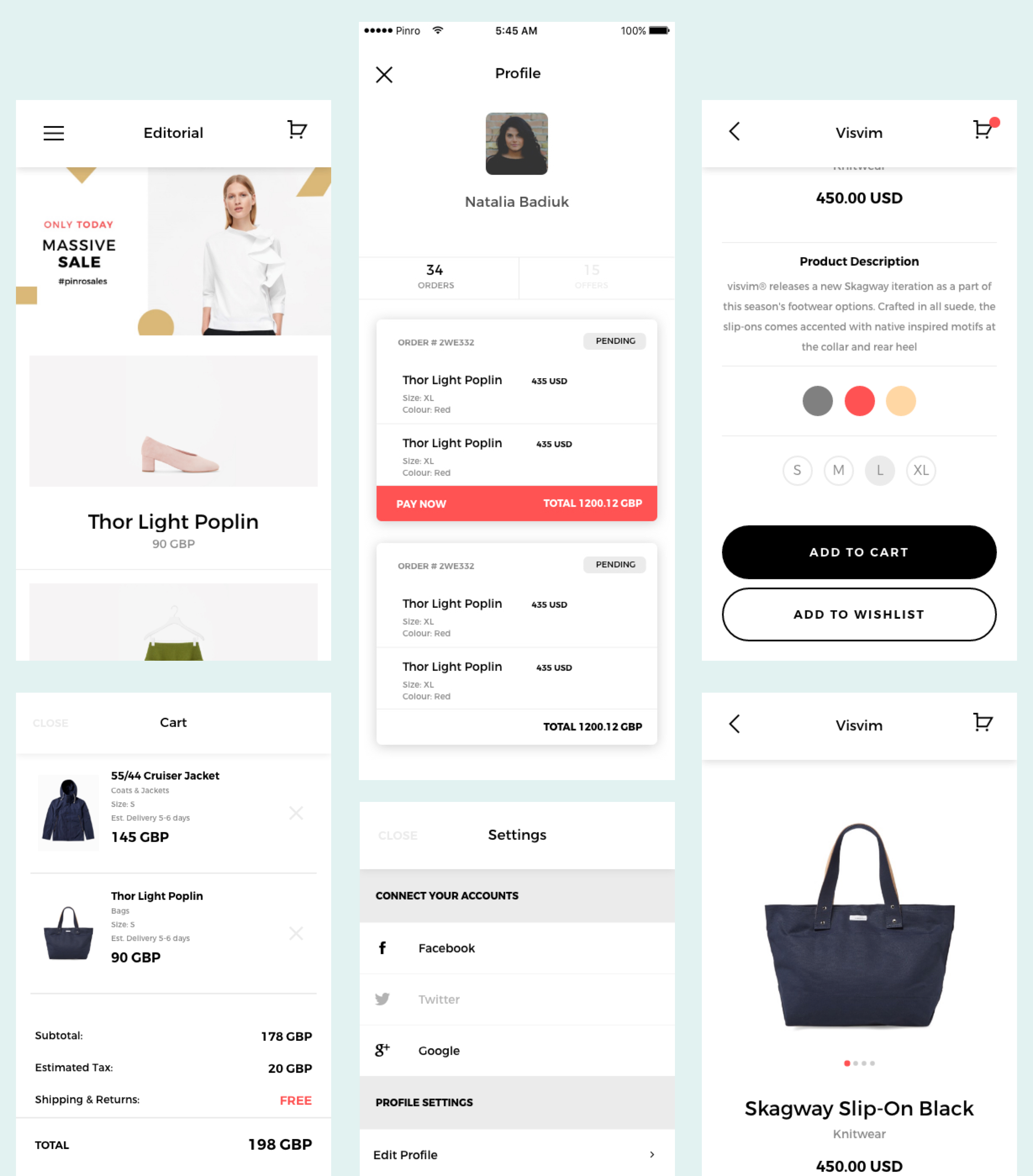 Maestro – Full Android, iOS E-Commerce App integrated with Woocommerce