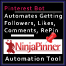 Web Banner Templates: Ninja Pinner Pinterest Automation Tool. Affiliate  Marketing Thumbnail Banner.  Web Banner size: 66x66px