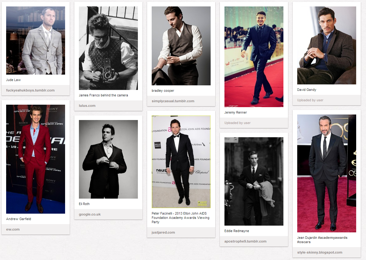 Most fashionable Men For February 2013