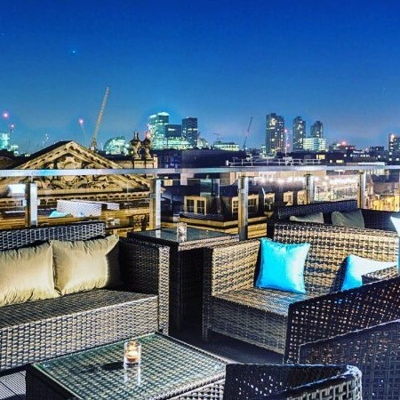The Best Rooftop Bars in The City and East London