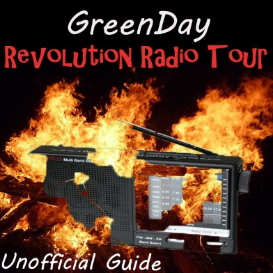 Greenday - Revolution Radio Tour 2016 - 2017 (Unofficial)