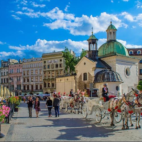 Famous Places in Krakow