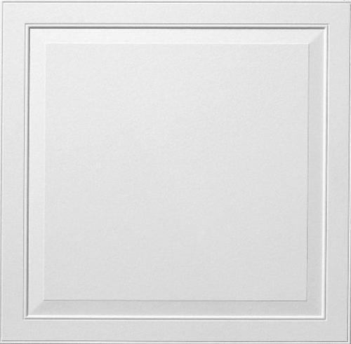 3/4 in x 2 ft x 2 ft Armstrong Ledges II 9/16 in Flush Tegular Panel / White - 8013