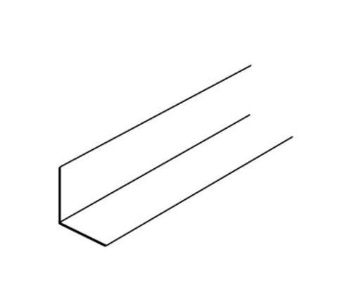 12 ft x 1 1/2 in x 1 in USG Drywall Suspension System Wall Molding - DGWM24