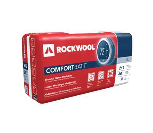 6 in x 16 1/4 in x 48 in ROCKWOOL COMFORTBATT Stone Wool Insulation