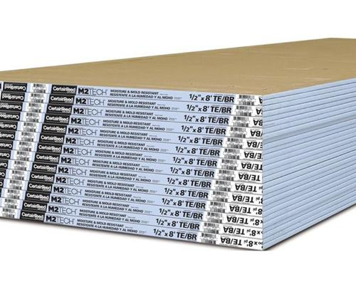1/2 in x 4 ft x 12 ft CertainTeed M2Tech Moisture & Mold Resistant Drywall