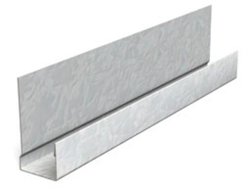 1/2 in x 10 ft Metal J Bead