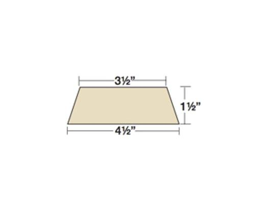 1 1/2 in x 3 1/2 in x 4 1/2 in x 36 in Owens Corning Thermafiber TopStop TSZ-1 Head-of-Wall Insulation