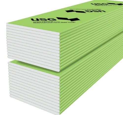 1 in x 2 ft x 12 ft USG Sheetrock Brand Glass-Mat Liner Panels Mold Tough