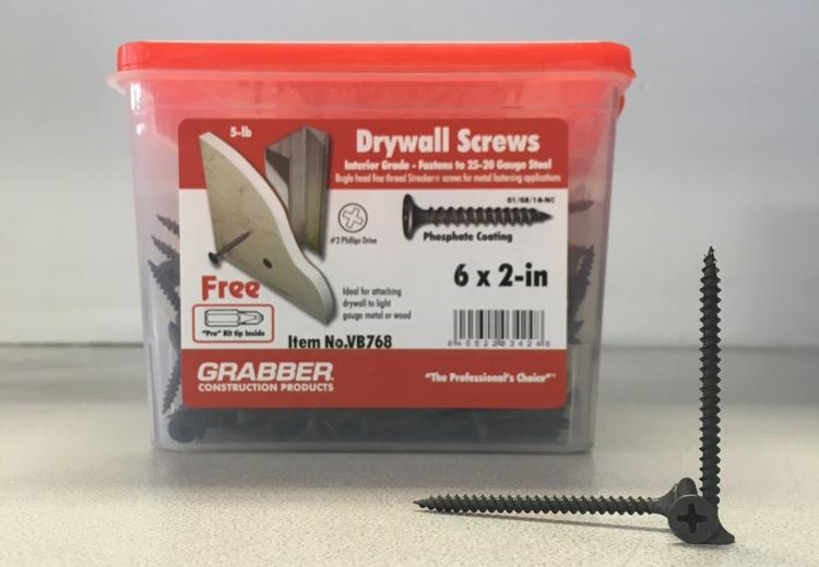 2 in Fine Drywall Screws - 5 lb box at Pioneer Materials West