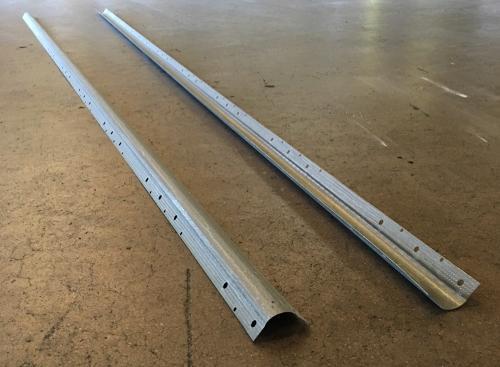 10 ft Bullnose Bare Metal (No Paper) - 40/ctn