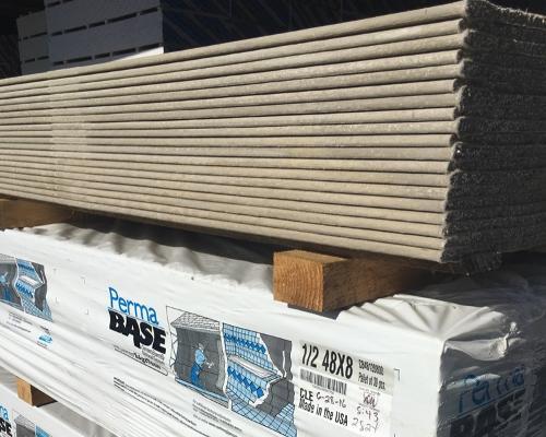 Gypsum Tile Backer Board : In ft permabase cement board national