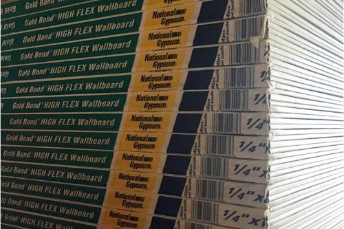 1/4 in x 4 ft x 8 ft High Flex® Wallboard - National Gypsum