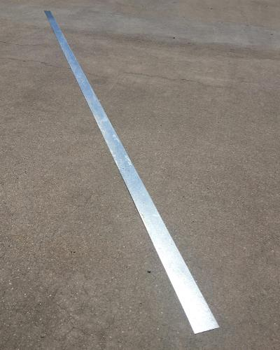 2 in x 10 ft x 18 Gauge 43 mil Flat Strap