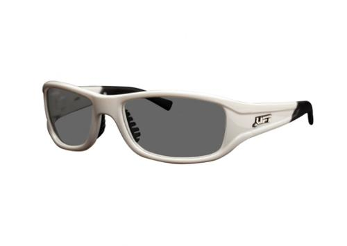 LIFT Safety Style Series Alias Safety Glasses - White/Smoke