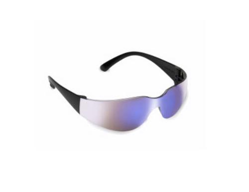 Cordova Bulldog Safety Glasses - Blue Mirror/Black