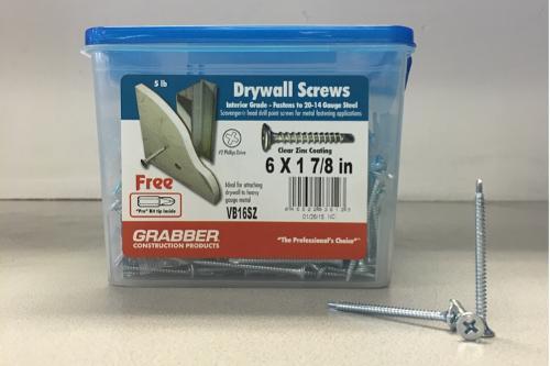 1-7/8 in Self-Drilling Screws - 5 lb box