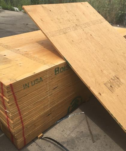 5/8 in x 4 ft x 8 ft CDX Plywood