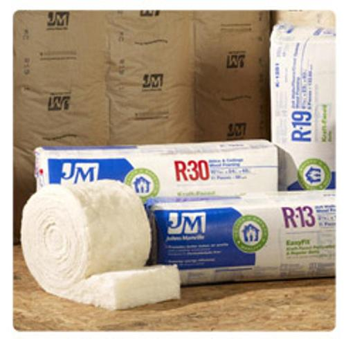 R19 6 in x 16 in Johns Manville Unfaced Insulation