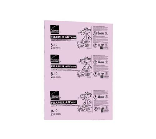 3 in x 4 ft x 8 ft Owens Corning FOAMULAR 250 Extruded Polystyrene (XPS) Insulation