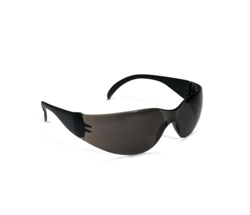 PIP Zenon Z12 Rimless Safety Glasses - Black Temple/Gray Anti-Scratch & Anti-Fog Coating Lens