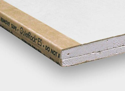5/8 in x 4 ft PABCO QuietRock EZ-Snap Sound Dampening Gypsum Panel