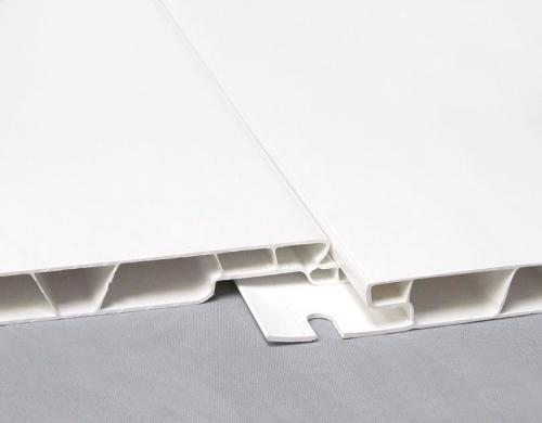 1/2 in x 16 in x 12 ft Trusscore PVC Wall and Ceiling Panel
