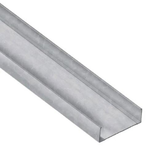 12 in x 10 ft x 16 Gauge 54 mil Unpunched Structural Steel Stud w/ 2 in Flange