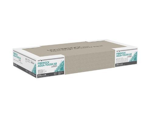 3/8 in x 4 ft USG FIBEROCK Brand Aqua-Tough Abuse Resistant Interior Panels