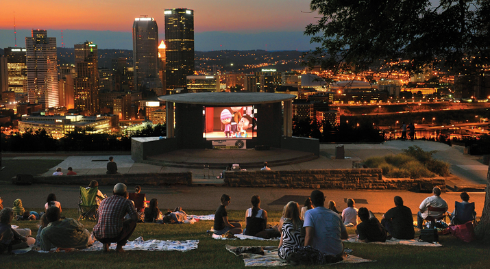 Cinema in the Park – Schenley Park