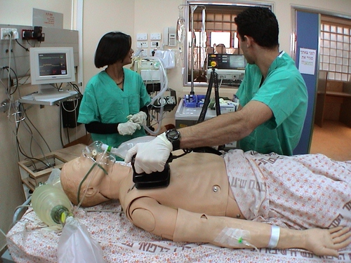 Physician Stresses Simulation To Avert Harm to Real Patients