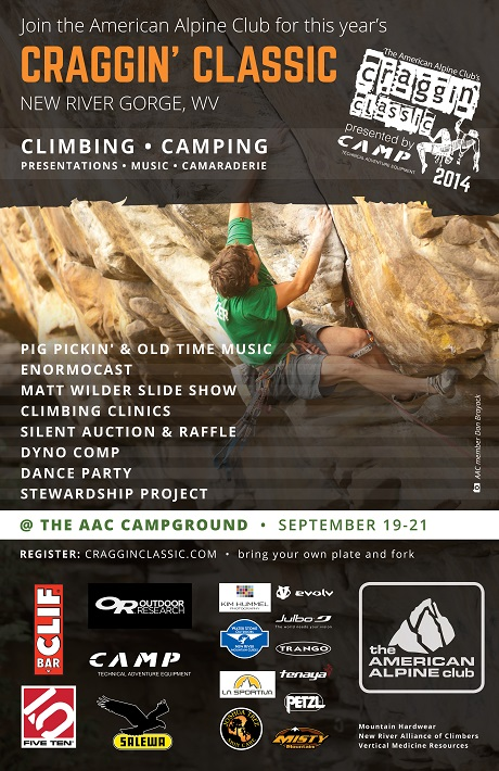 Must-go Outdoor Climbing Event at New River Gorge, WV