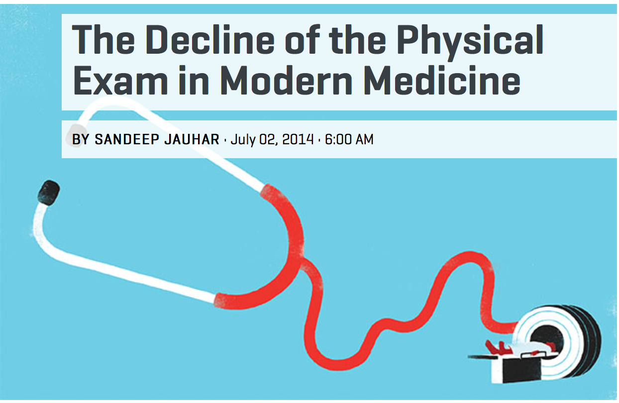 The Physical Exam – Sandeep Jauhar
