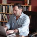 David-biespiel-at-his-desk