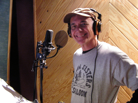 Jerry-recording-his-latest-cd