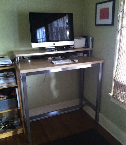 How To Hack An Ikea Standing Desk