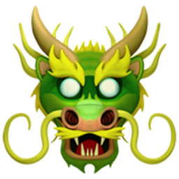 Dragon Face Emoji U 1f432